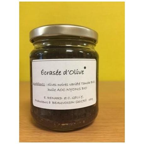 Ecrasée d'olives de Nyons BIO