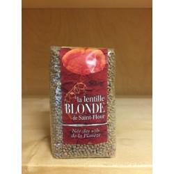 Lentilles blondes artisanales