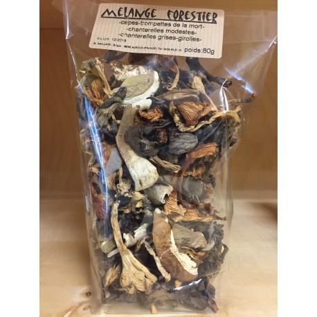 Mélange de champignons séchés