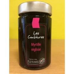 Confiture de Myrtilles/Réglisse