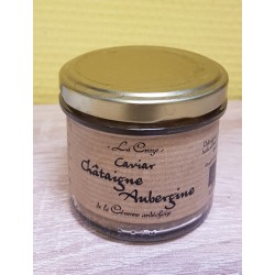 Caviar châtaigne aubergine (100g)