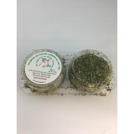 Chèvre frais aux Épices (Ail et Fines Herbes)