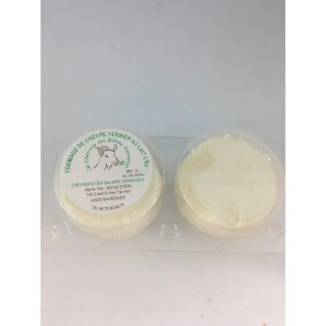 Fromages frais de chèvre (x2)
