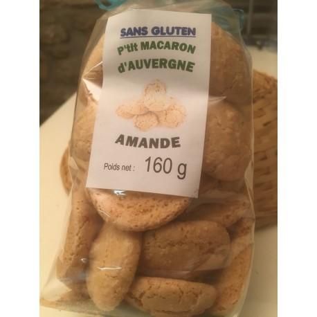 Macarons aux Amandes sans Gluten (160g)