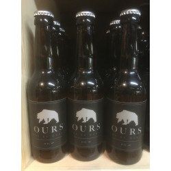 "Biere ""Ours"" Blanche 33cL"
