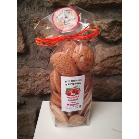 Biscuits P'tit Crousti d'Auvergne aux noisettes entières