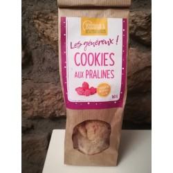 Cookies praliné amandes chocolat