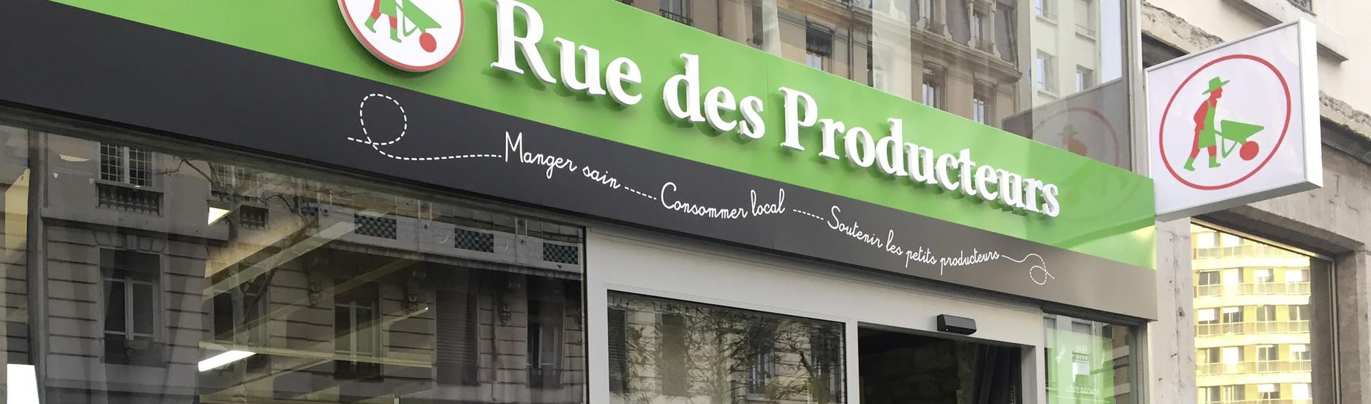 Magasin Rue des producteurs à lyon 108 cours gambetta